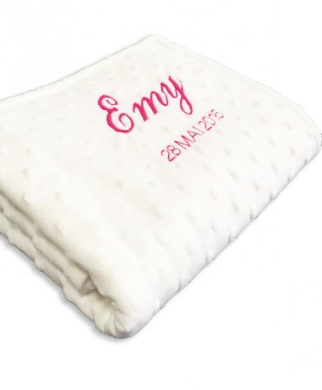Petite couverture minky
