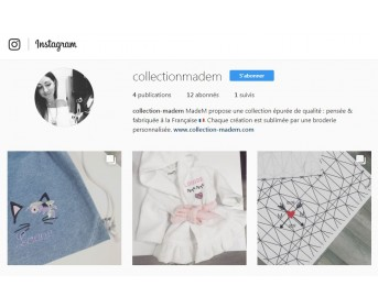 @collectionmadem sur Instagram